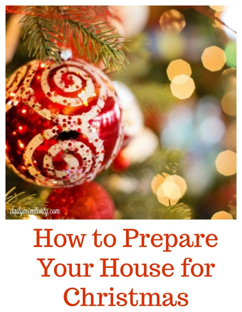 With the holidays here, check out these easy tips on how to prepare your house for the holidays