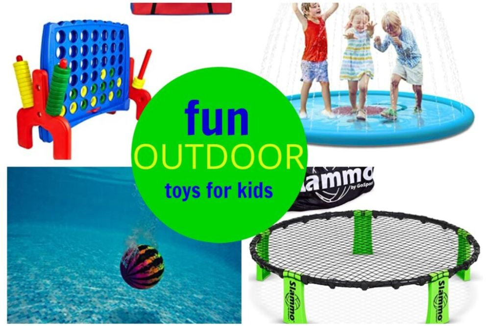 fun outdoor toys for kids and adults this summer