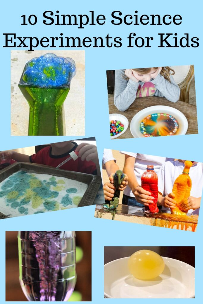 10 Simple Science Experiments for Kids