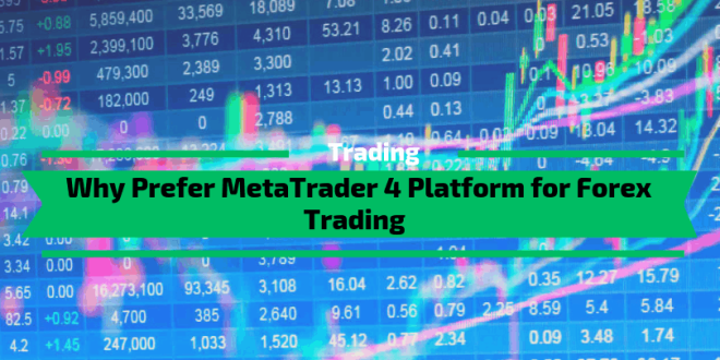 Why Prefer MetaTrader 4 Platform for Forex Trading