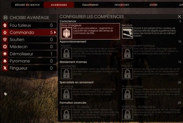 Commando lvl5