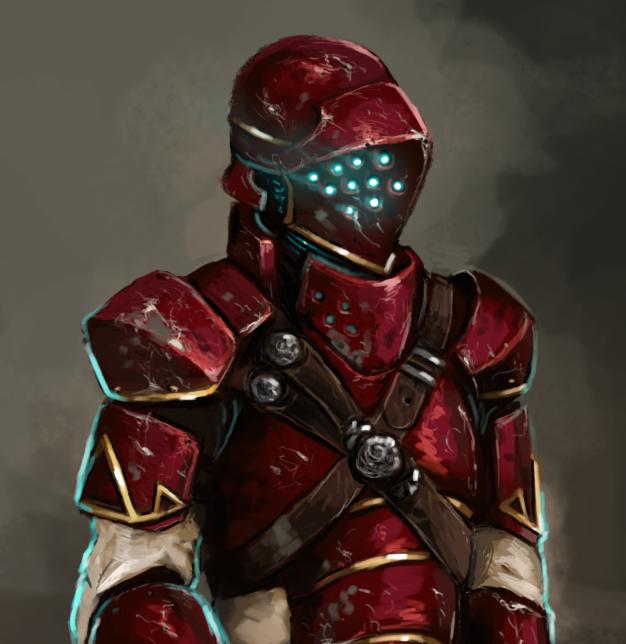 Steam Punk Knight