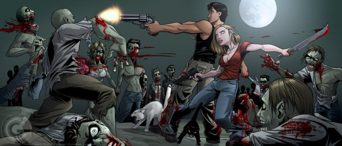 Armes à feu en pleine apocalypse zombie.jpg