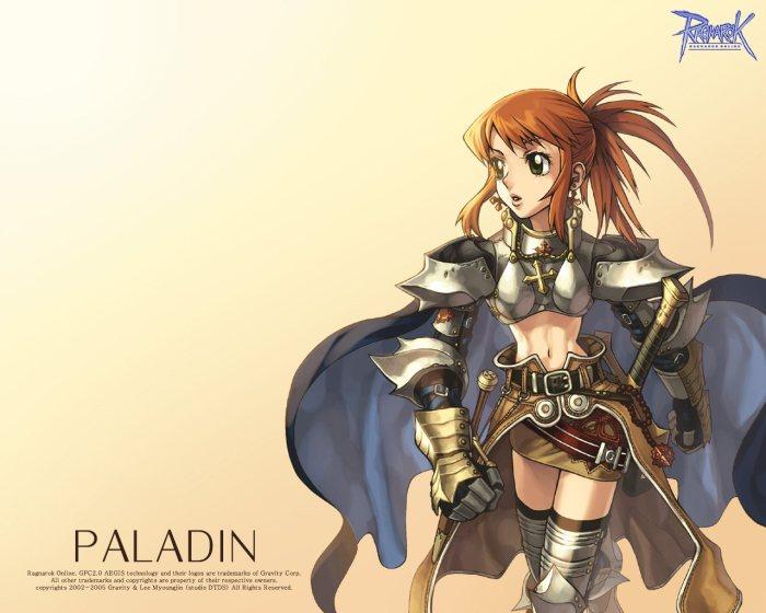 Femme Paladin