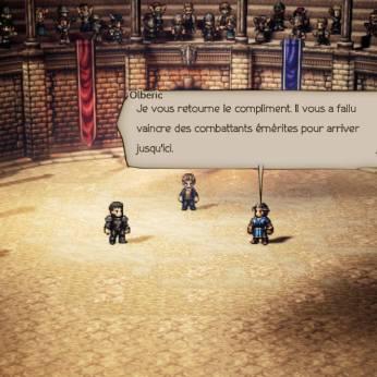 Gustav vs Olberic 2