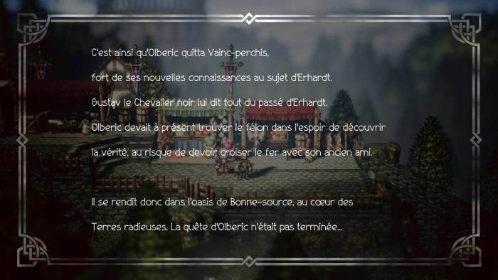 Olberic Chapitre 3