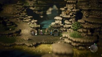 Vers la grotte 3