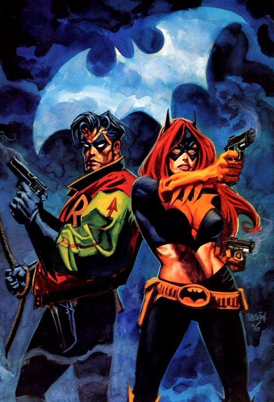 Batgirl et Robin Batman Thrillkiller.jpg