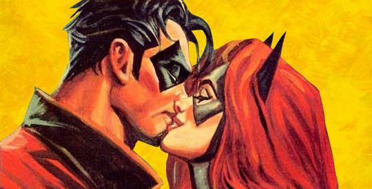 Dick Grayson Barbara Gordon Batman Thrillkiller