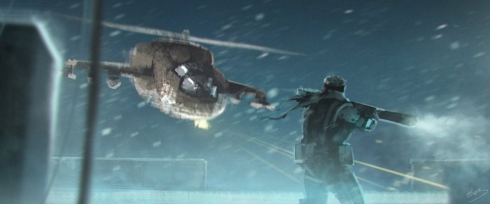 Helicoptere Hind Metal Gear Solid