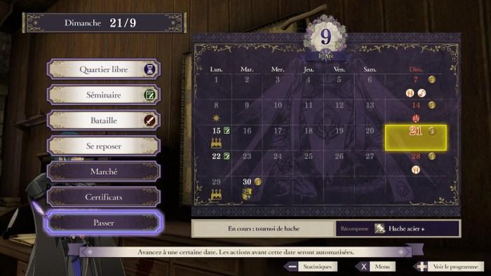 Semaine de cours Fire Emblem Three Houses.jpg