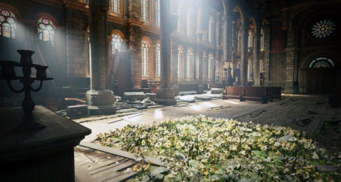 Eglise taudis Final Fantasy VII