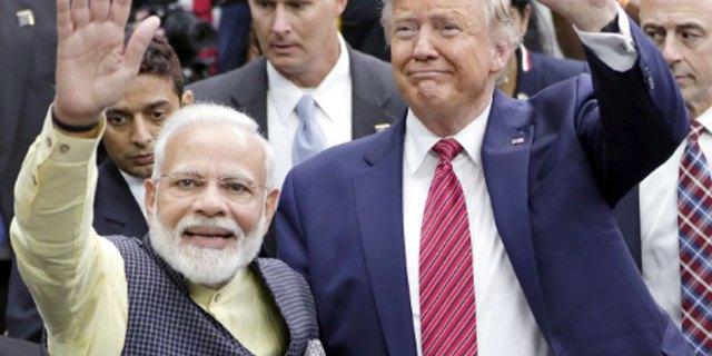 ڈونلڈ ٹرمپ کی بھارت آمد