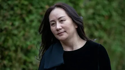 Bullets sent in mail to Huawei executive Meng Wanzhou