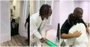 Heart-warming moment Laycon meets Don Jazzy for the first time [Video]