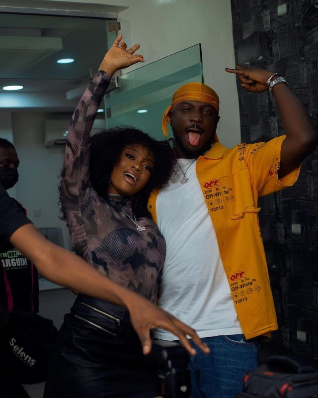 Photos: Davido's newly signed female artist, Liya arrested for flaunting covid-19 protocols