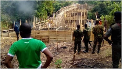 Unknown persons build N20m bridge in Ogun forest