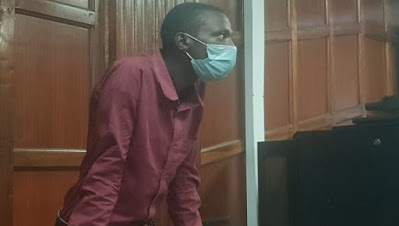 Double wahala for guard who confronted his boss to demand his salary as he is arraigned and jailed