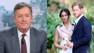 Piers Morgan wants Queen to strip Harry of his military titles