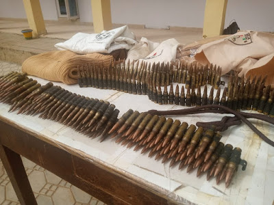Police discover more ammunitions in Bauchi building marked for demolition
