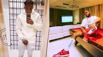 """""""Stop rolling with upcoming artistes""""– Davido's fan tells him…. he responds"""