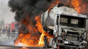 Truck driver burnt to death in Ogun accident