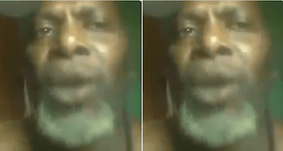 Video: Man allegedly sent to jail by half sister cries out for help