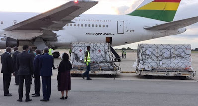 Zimbabwe receives first batch of Covid vaccines