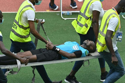 AFCON qualifier: Ghanaian referee collapses during Ivory Coast vs Ethiopia match