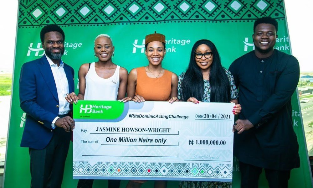 "Heritage Bank boost creative industry with support for ""Rita Dominic Acting Challenge"""