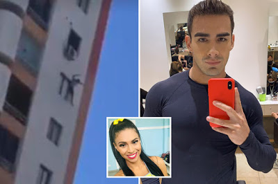 Horror moment man falls 120ft to his death after 'throwing influencer girlfriend from same spot in murder-suicide'