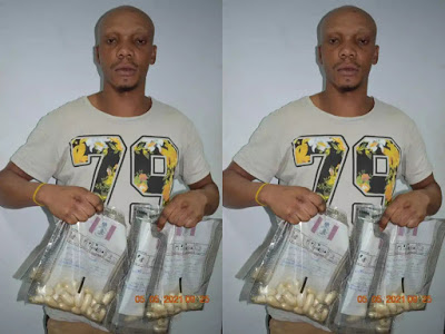 Busted Italy-bound Nigerian excretes 59 wraps of Heroin at Abuja Airport [pictured]