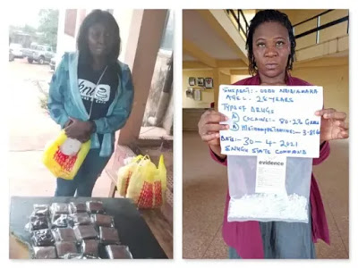 NDLEA arrests two women for cannabis cake, cocaine in Jos
