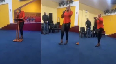 Pastor's wife curses church members for not contributing money for her birthday
