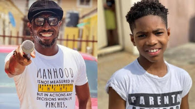 Timi Dakolo talks about the many magic his son performs