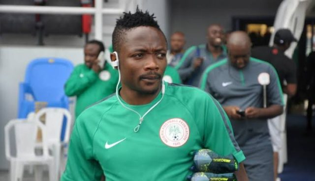Ahmed Musa throws captain's armband on pitch as Nigeria fail to defeat Cameroon
