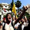 Protesters gather outside the Saudi embassy to demand the release of Ahmed Al-Gizawy (File photo) AFP PHOTO