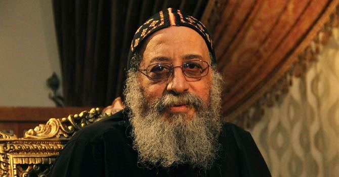 Pope Tawadros is now the 118th pope of the Coptic Orthodox Church AFP Photo