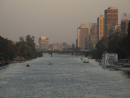 The Nile basin is one of many criticisms brought againsts Egypts's new government. (DNE / FILE PHOTO / Laurence Underhill)