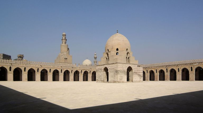 Mosque of Ibn Tulun Berthold Werner
