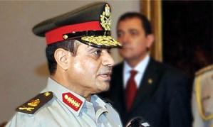 Abdel Fatah El-Sisi, Minister of Defence (AFP/Photo)