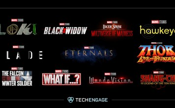 Announcement Of Marvel Studios Phase 4 Movies