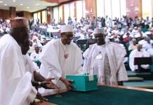 Buhari, budget presentation