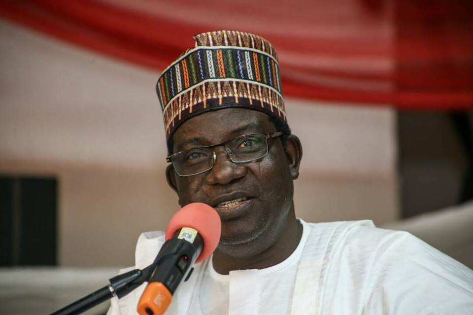 Gov. Lalong's convoy attacked