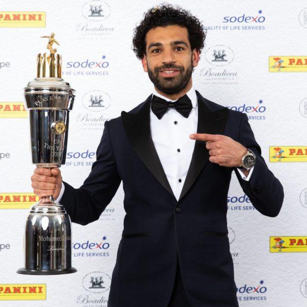 Salah beats De Bruyne to win PFA player of the year award