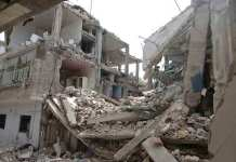 Lagos school building that collapsed with pupils