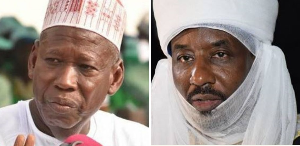 Image result for picture of sanusi and ganduje