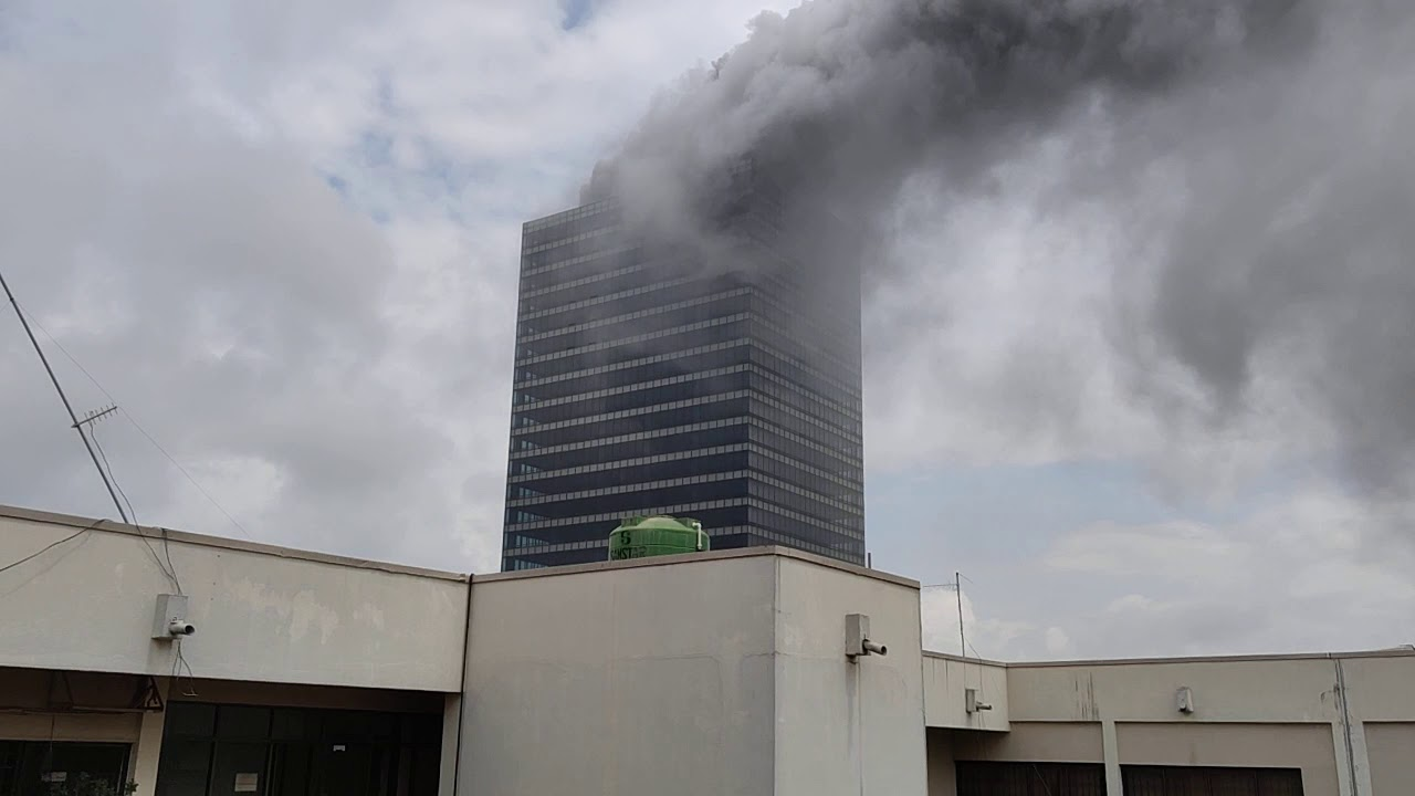BREAKING: Abuja World Trade Centre on fire - Daily Nigerian