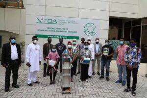 Students of Glisten International Academy, Abuja invented robot