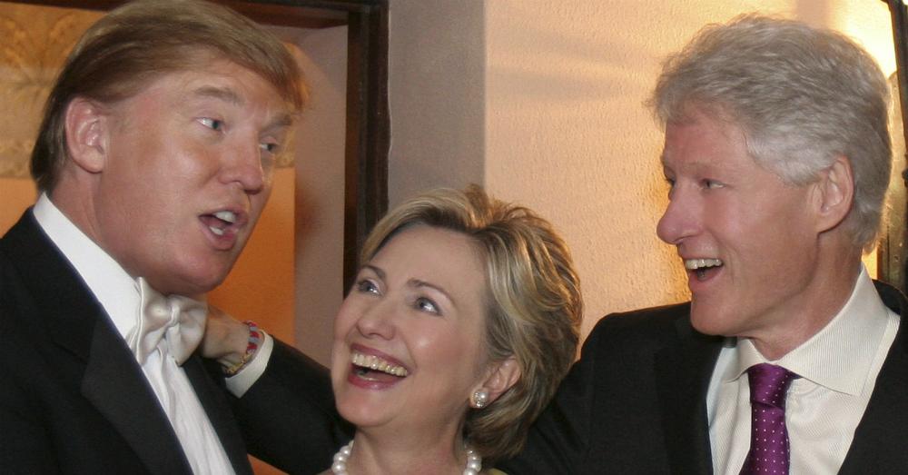 Donald-Trump-Hillary-Clinton-Bill-Clinton